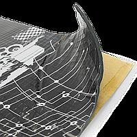Шумоизоляция Авто PRACTIK 4,0 мм 47х75 см Обесшумка Виброизоляция Шумка Шумовиброизоляция Виброшумоизоляция