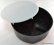 Распаечная коробка внутренняя (d-100 мм)