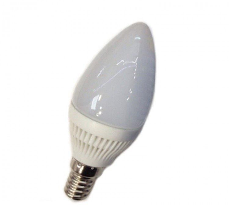 Лампа Lemanso св-ая C37 E14 7,5W 600LM 4500K, 6500К 230V матовая / LM384