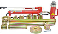 Набор гидравлических растяжек 20 т .Рихтовочный набор для кузовного ремонта автомобиля