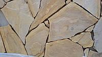 Камень песчаник желто-коричневый