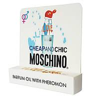 Мини парфюм с феромонами Moschino Cheap and Chic I Love Love (Москино Чип энд Чик Ай Лав Лав) 5 мл