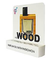 Мини парфюм с феромонами Dsquared2 WOOD HE (дискваред2 Вуд Хи) 5 мл