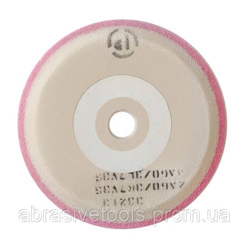 Круг шлифовальный двухслойный 3П 250х8/4/4х25 2А60