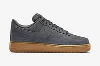 Кроссовки Nike Air Force Low Grey Suede, фото 1