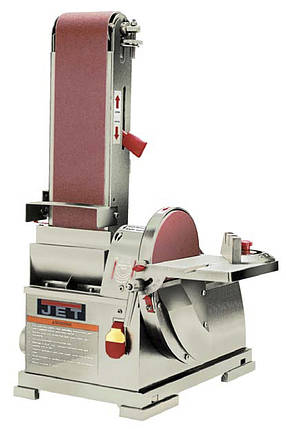Тарельчато-ленточный шлифовальный станок JET JSG-64, фото 2