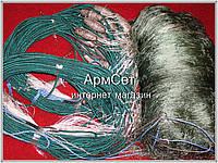 Рамовая сеть. Ячея 95(нить 29х3), высота 2,5м, длина 50 м (промышленный лов)