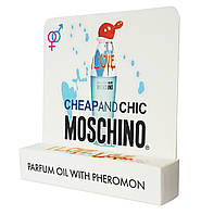 Мини парфюм с феромонами Moschino Cheap and Chic I Love Love (Москино Чип энд Чик Ай Лав Лав) 5мл