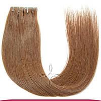 Волосы на Лентах с Иммитацией Роста Волос 55-60 см 100 грамм, Шоколад №06