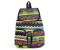 Прогулочный рюкзак для девочки Черно-белый