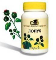 Лопух 90 таблеток (Биола )-подагра, гастрит, простатит