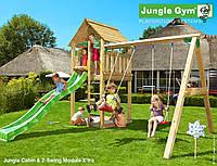 Игровой комплекс Jungle Cabin & 2-Swing Module X`tra