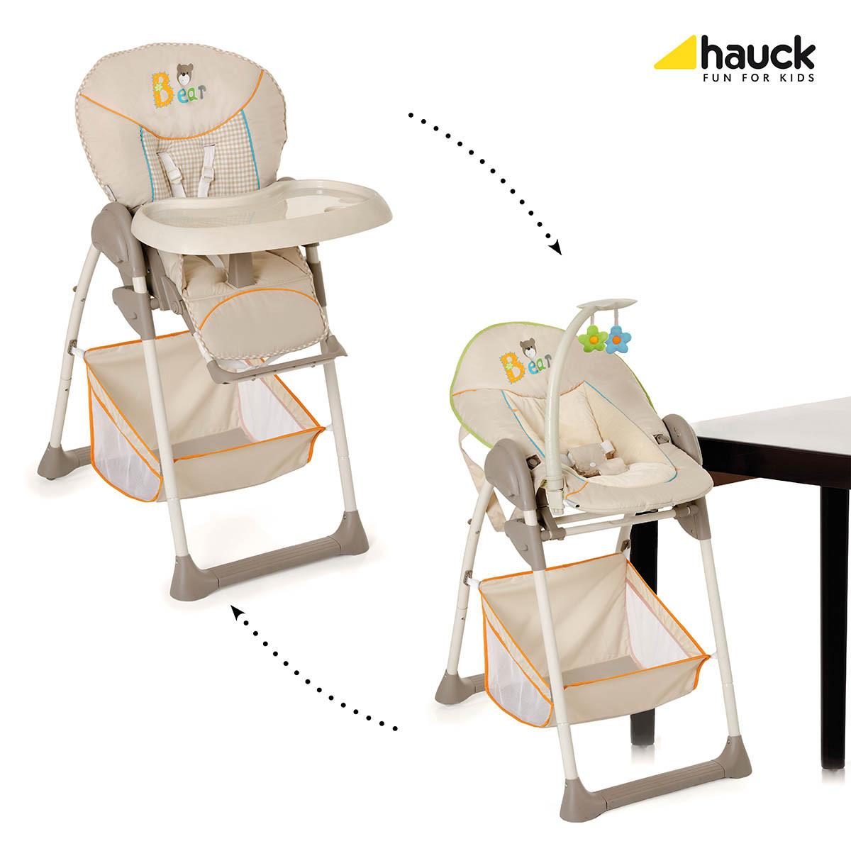 Шезлонг-стульчик 2в1 ребенок Hauck Sit and Relax