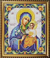 Схема для вышивания бисером Икона Божьей Матери Неувядаемый Цвет