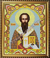 Схема для вышивания бисером Икона Святителя Василия Великого