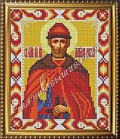 Схема для вышивания бисером Икона Святой блаженный князь Дмитрий Донской