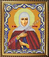 Схема для вышивания бисером Икона Святая Анна Пррочица