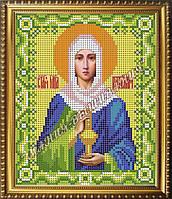 Схема для вышивания бисером Икона Святая мученица Анастасия Узорешительница