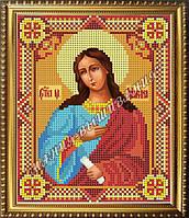 Схема для вышивания бисером Икона Святая мученица Марина