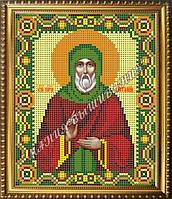 Схема для вышивания бисером Икона Преподобный Виталий