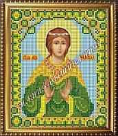 Схема для вышивания бисером Икона мученица Надежда