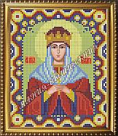 Схема для вышивания бисером Икона Святая благоверная царица Тамара