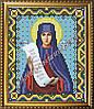 Схема для вышивания бисером Икона Святая преподобная Аполлинария