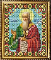 Схема для вышивания бисером Икона Святой пророк Илья