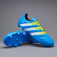 Бутсы Adidas ACE 16.3 FG/AG LEATHER AF5163, Адидас Асе