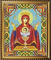 Схема для вышивания бисером Икона Божьей Матери Неупиваемая Чаша