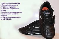 Подростковые кожаные кроссовки lonsdale.р.35,5