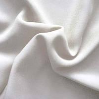 Ткань штапель - цвет белый