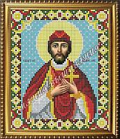 Схема для вышивания бисером Икона Святой Владислав