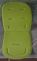 Матрасик в коляску с пеной Зеленый