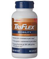 Препараты для восстановления суставов и связок GNC Triflex Mobility (60 капс)