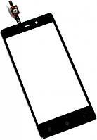Сенсор FLY IQ453 Quad Luminor FHD black (оригинал), тач скрин для телефона смартфона