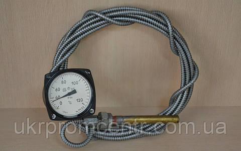 Термометр манометрический капиллярный ТКП-60/3М, ТПП-2В