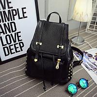 Стильный маленький рюкзак с заклепками, фото 1