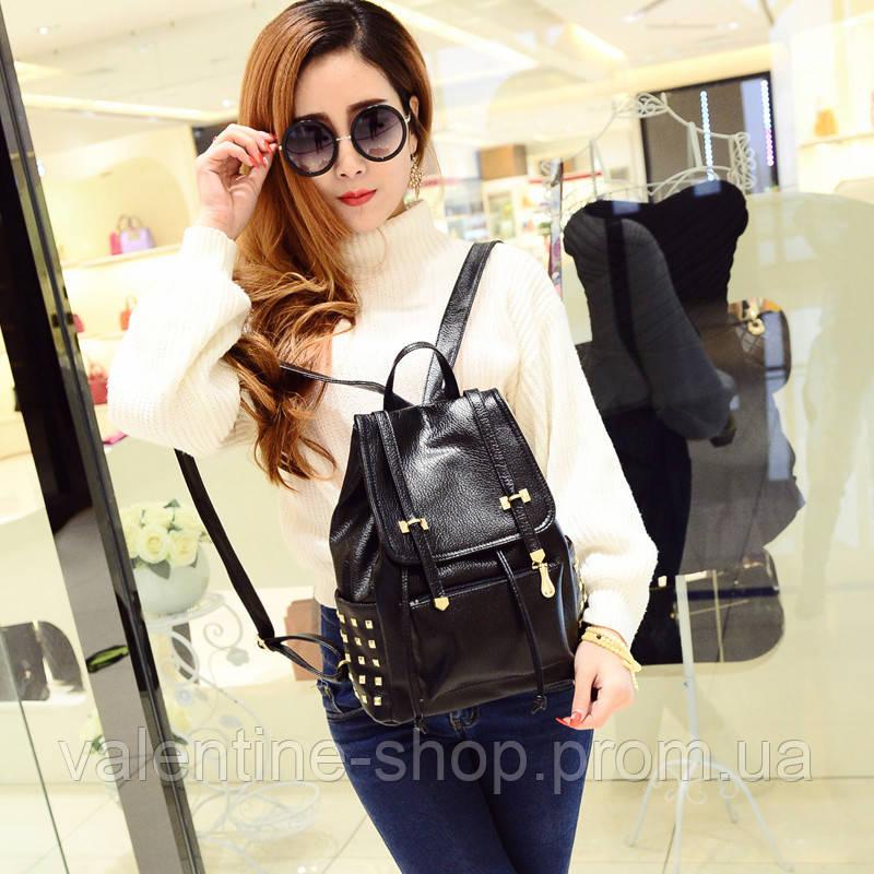 3d9f40771125 Стильный маленький рюкзак с заклепками по оптимальной цене 540 грн ...