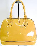 Качественная женская сумка из экокожи оранжевая