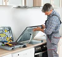 Извлечение встроенной электроплиты из мебели