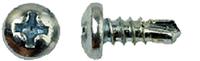 Шуруп самосверлящий для гипсокартона X-Tech WS фосфат 3,5 x 9,5 мм (1000 шт)