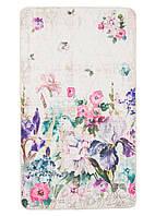 Коврик для ванной комнаты 100% акрил Irises 80*140.