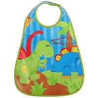 "STEPHEN JOSEPH - Нагрудник ""Динозавр"", фото 1"