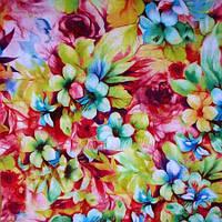 Штапель цветной - 12150-1