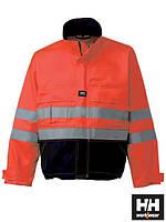 Куртка утепленная рабочая со светоотражающими полосами красная (сигнальная спецодежда) HH-BRIW-J CGF