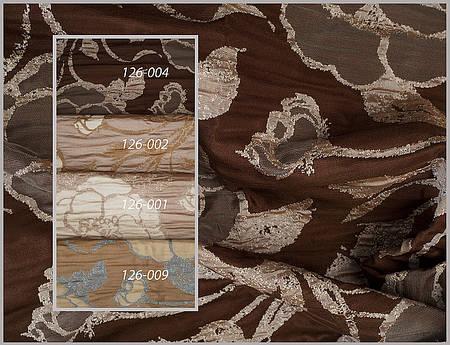 Портьерная ткань с рисунком. Код: 126