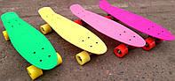 Скейт Penny Board  22 дюйма с матовыми колесами Zelart SK-4353