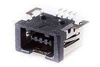 Гнездо USB mini монтажное SMT тип