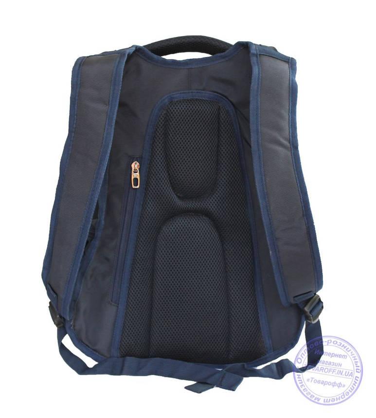 Оптом Качественный рюкзак для мальчика - синий - 3203, фото 2